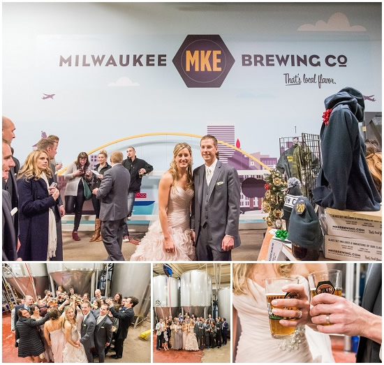 Milwaukee Brewing Company Wedding