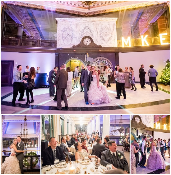Milwaukee Historical Society Wedding Reception