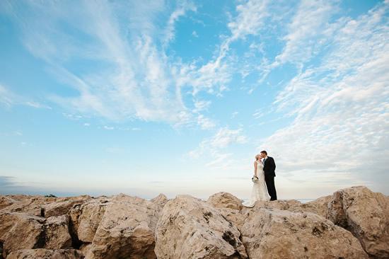 Milwaukee Lakefront Wedding Photo