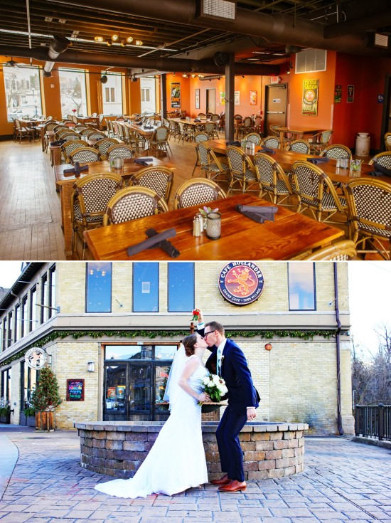 Cafe Hollander Wauwatosa Wedding