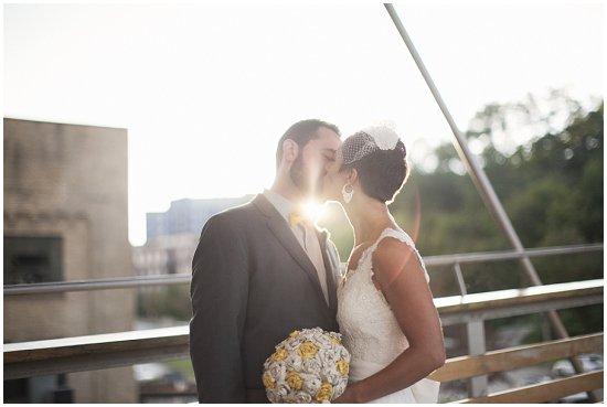 Milwaukee Wedding on the Marsupial Bridge
