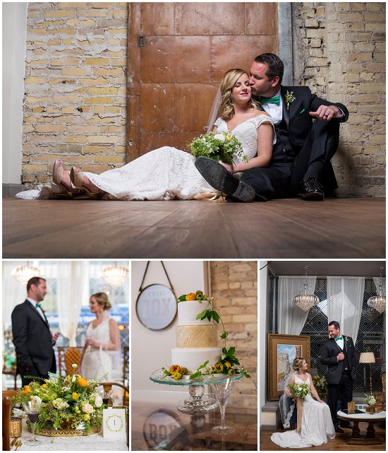 Some awesome vendors came together to make our styled shoot of The Box a reality. Photos by Jadon Good Photography