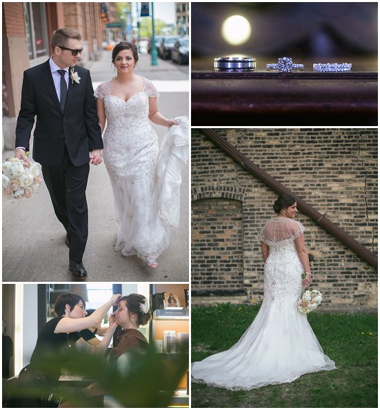 Milwaukee Wedding Rings and Dress