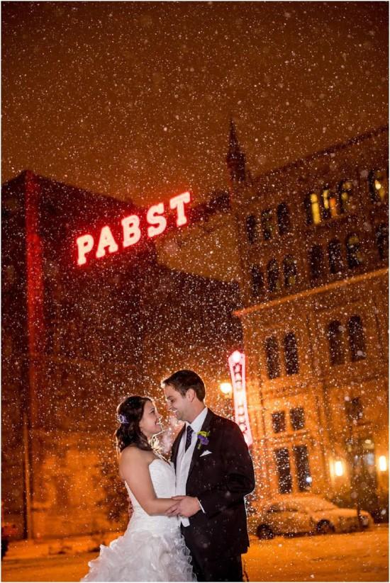 Pabst Winter Wedding