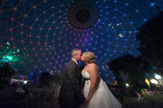 Milwaukee Domes Wedding