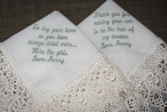 Wedding Keepsakes for Mom