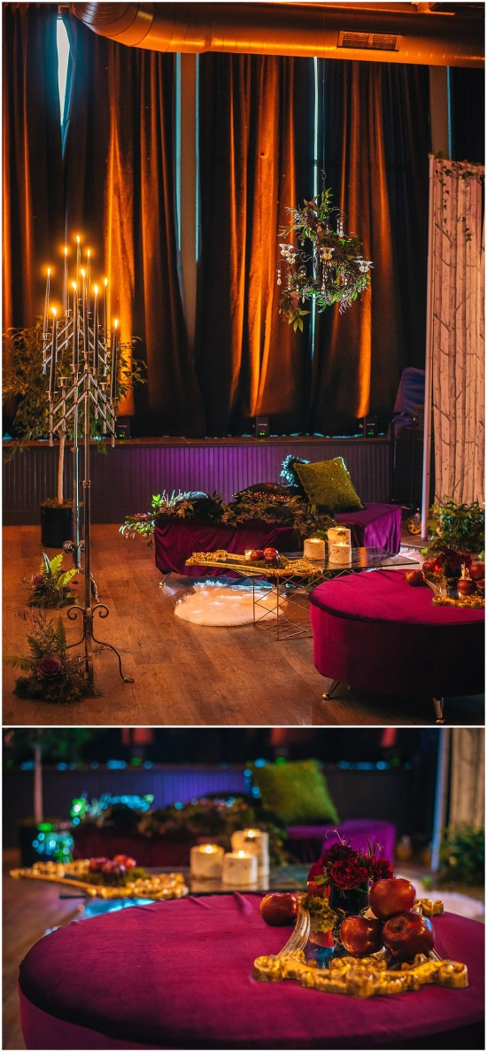 Wedding Lounge Area at the Pritzlaff