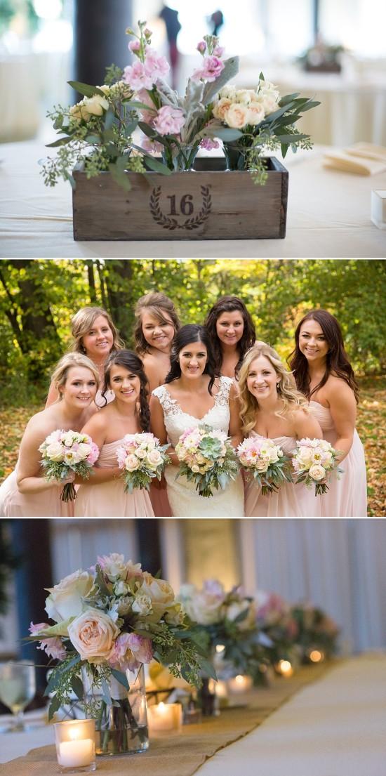 Wedding Flowers at the Pritzlaff