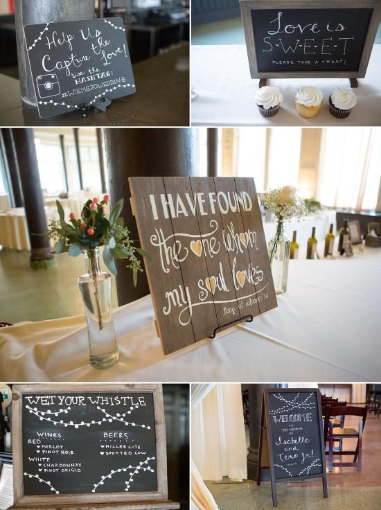 Wedding Signs Milwaukee