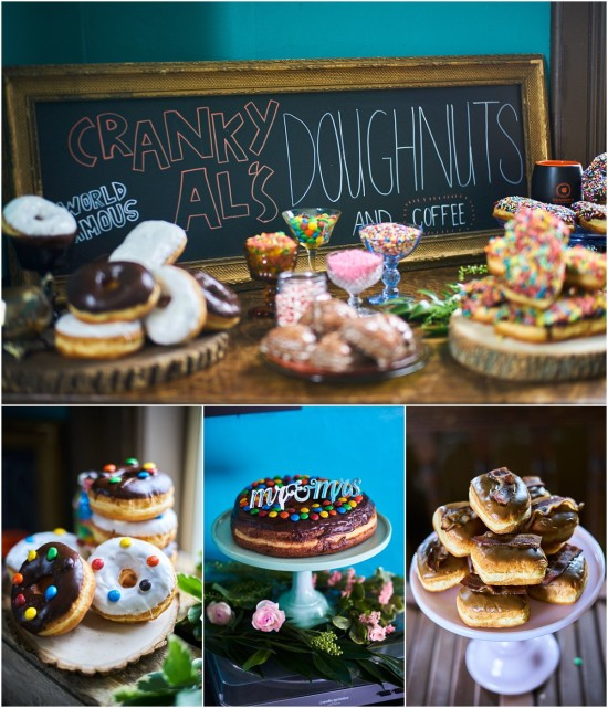 Wedding Doughnuts Cranky Al's