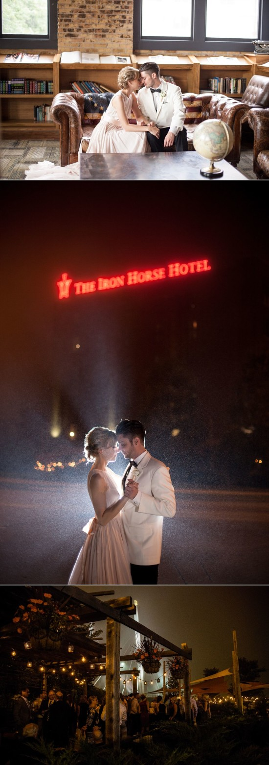 Iron Horse Hotel Wedding