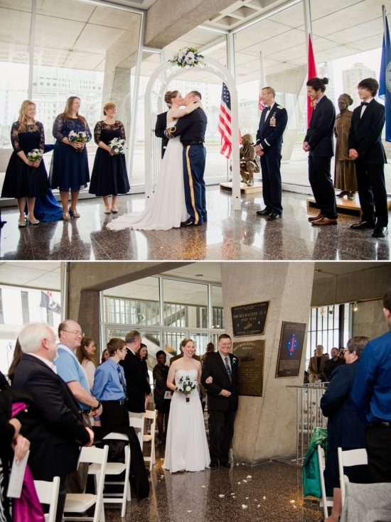 War Memorial Wedding Ceremony