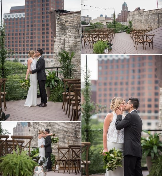 Amazing ceremony options at The View. Styling by Events to a T / Photo by Little Giant Photography