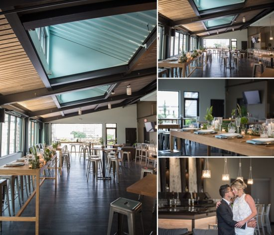 The amazing indoor space at The View. Styling by Events to a T / Flowers by Belle Fiori / Photo by Little Giant Photography