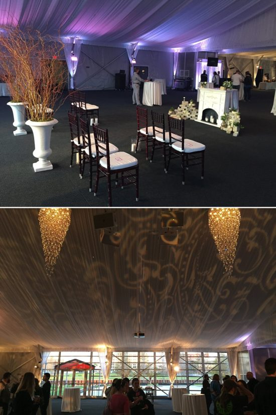Wedding Event Uplighting by Sound By Design