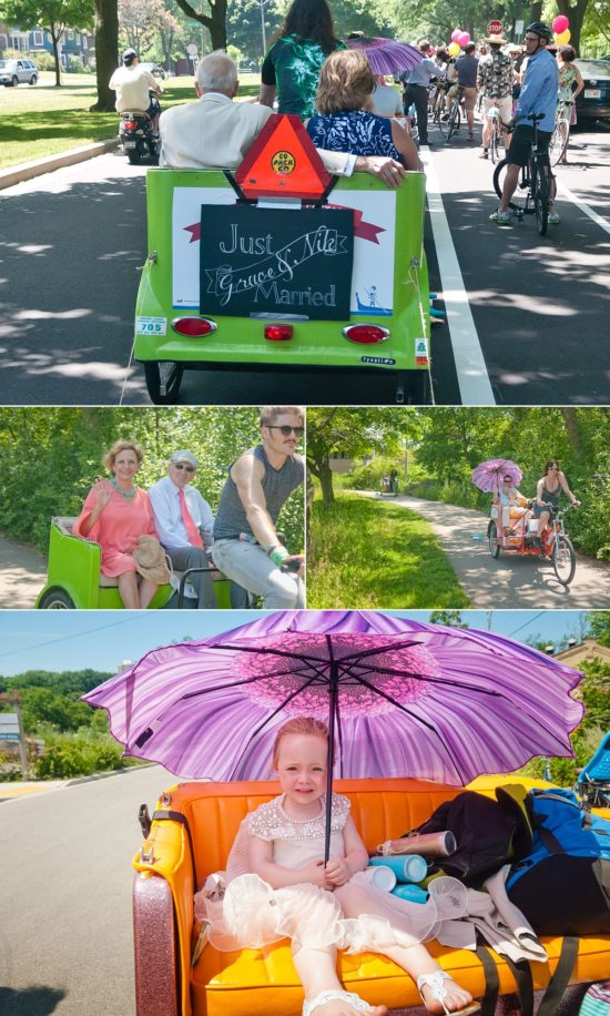 Rickshaw Wedding Milwaukee
