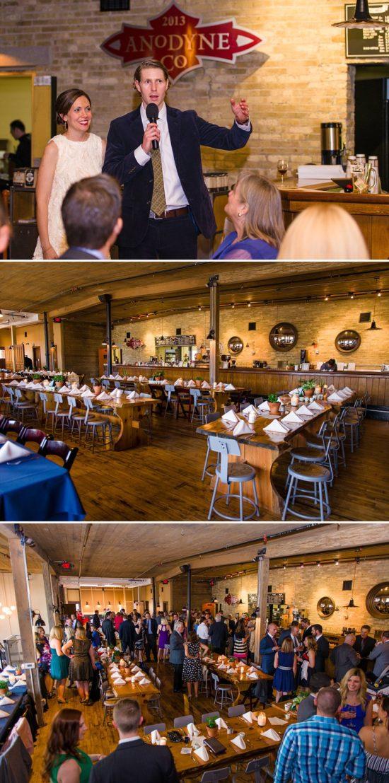 Anodyne Coffee Rosters Wedding