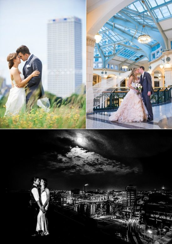 Milwaukee wedding photo