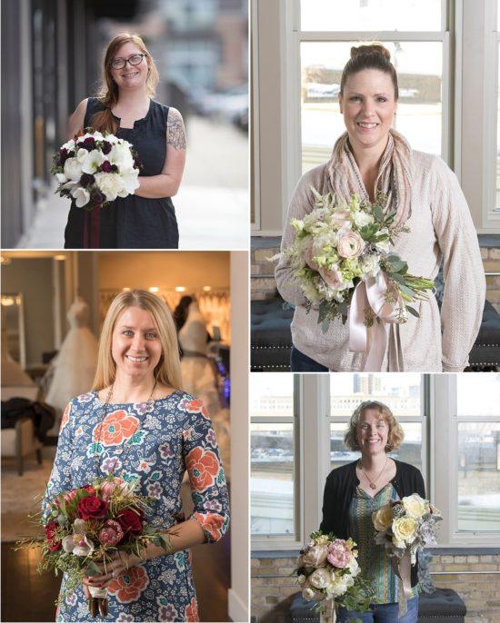 Milwaukee wedding florists