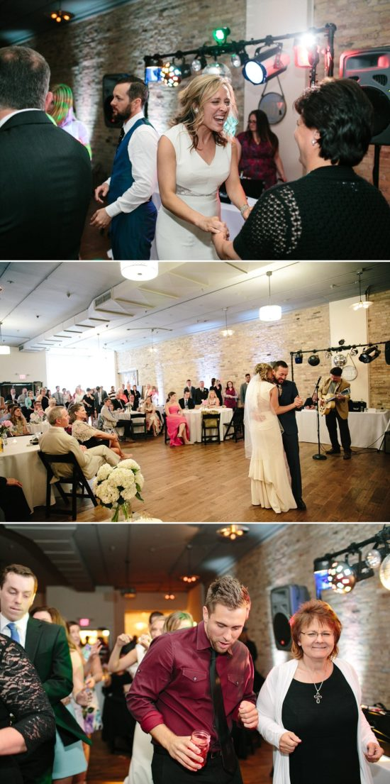 Wedding Reception at The Box Milwaukee