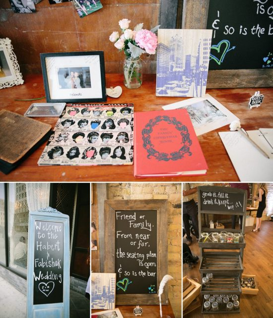 Wedding Signs and Guest Books