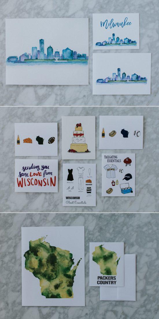 Local Milwaukee Greeting Cards