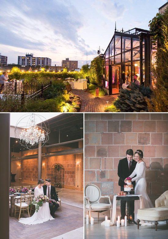 The Atrium Shorewood Wedding Venue