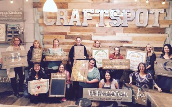 craftspot wauwatosa bachelorette bridal shower milwaukee