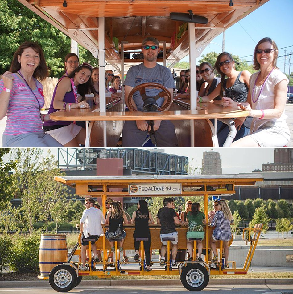 Pedal Tavern Milwaukee Bachelor Party
