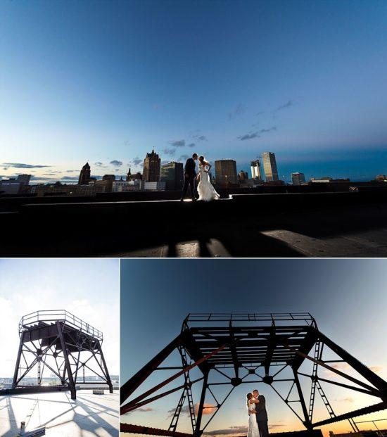 Rooftop Milwaukee skyline pritzlaff