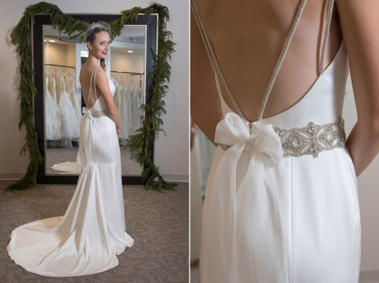 this paloma blanca dress from white dress milwaukee got us loving the