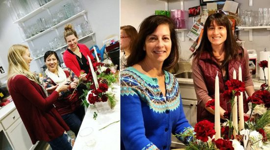 belle fiori flower designing class milwaukee