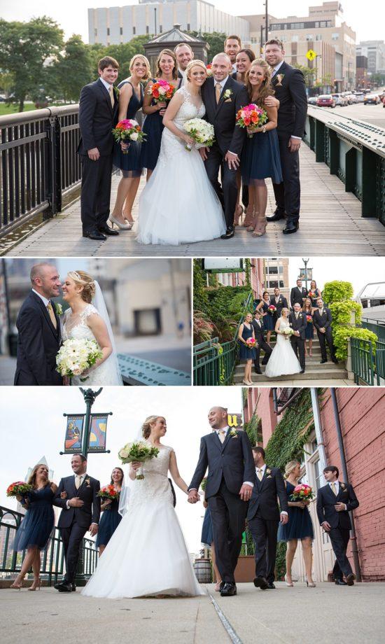 Downtown Milwaukee Wedding Photos