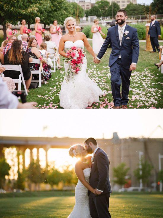 Harley Outdoor Wedding Ceremony