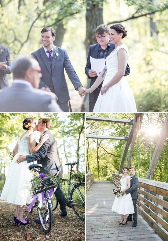 Urban Ecology Center Outdoor Wedding Ceremony