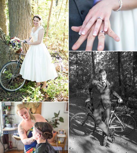 Urban Ecology Center Bike Wedding