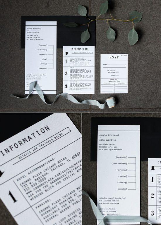 Custom Wedding Invites - Milwaukee - Cracked Designs