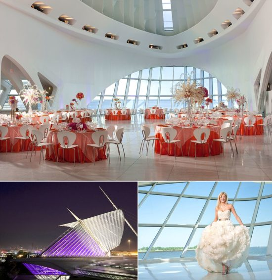 Modern wedding venues in milwaukee