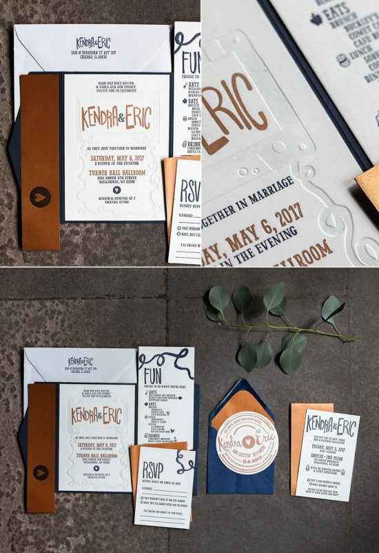 Bay View Printing Co. Wedding Invites
