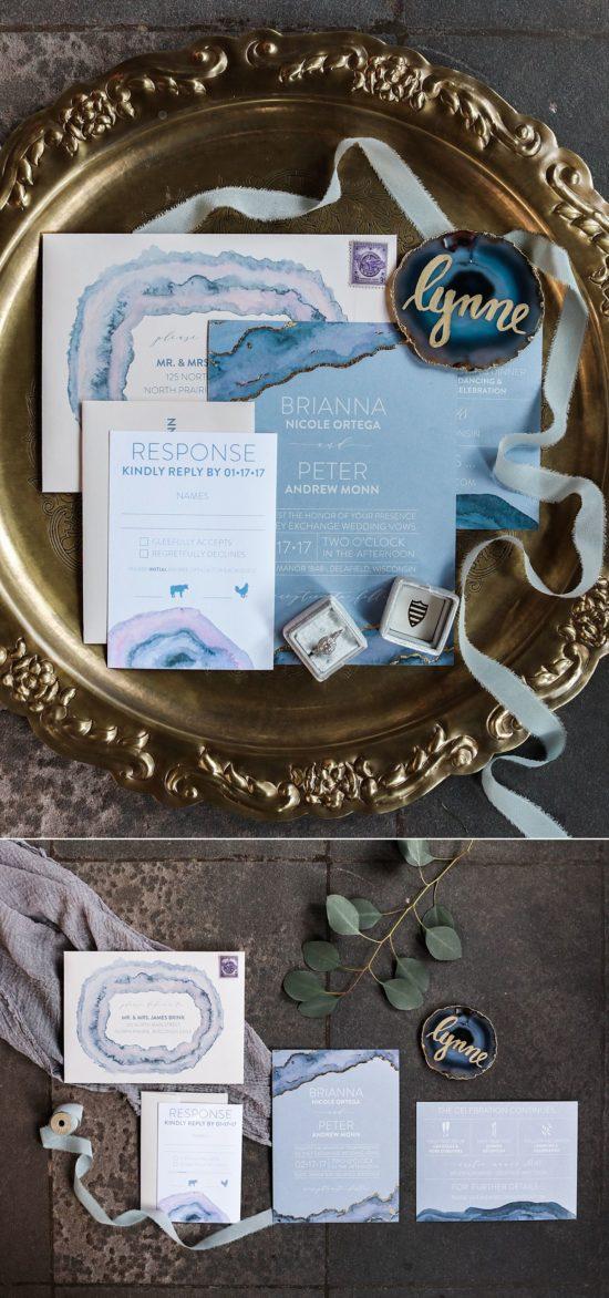 Wedding Invitations Milwaukee - Coqui Design