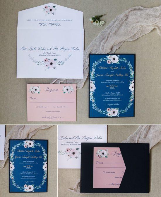 Coqui Paperie Wedding Invitations Milwaukee