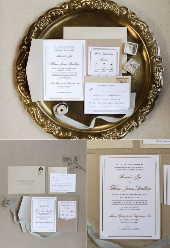 Design That Flies Wedding Invitations