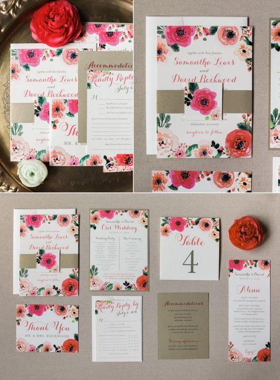 Paperwhites Wedding Invitations Milwaukee