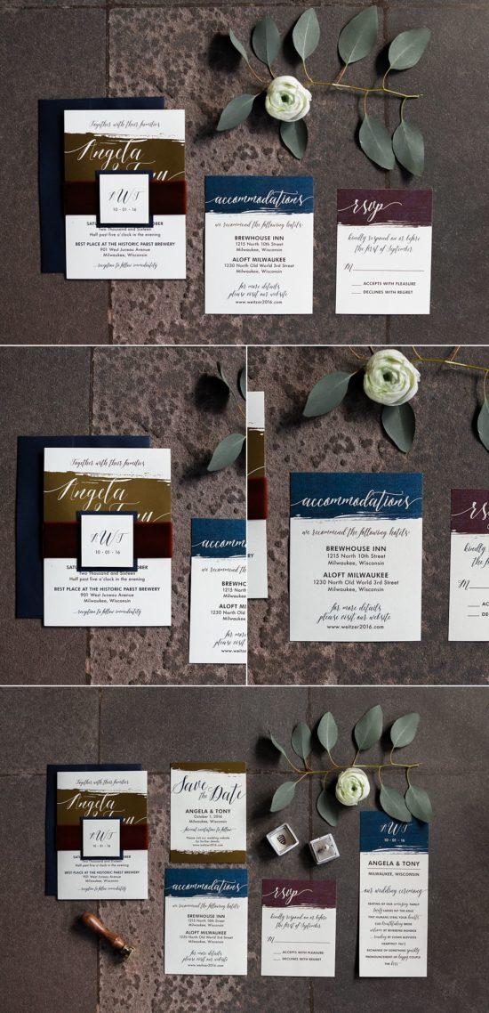 Wedding Invites by Paperwhites