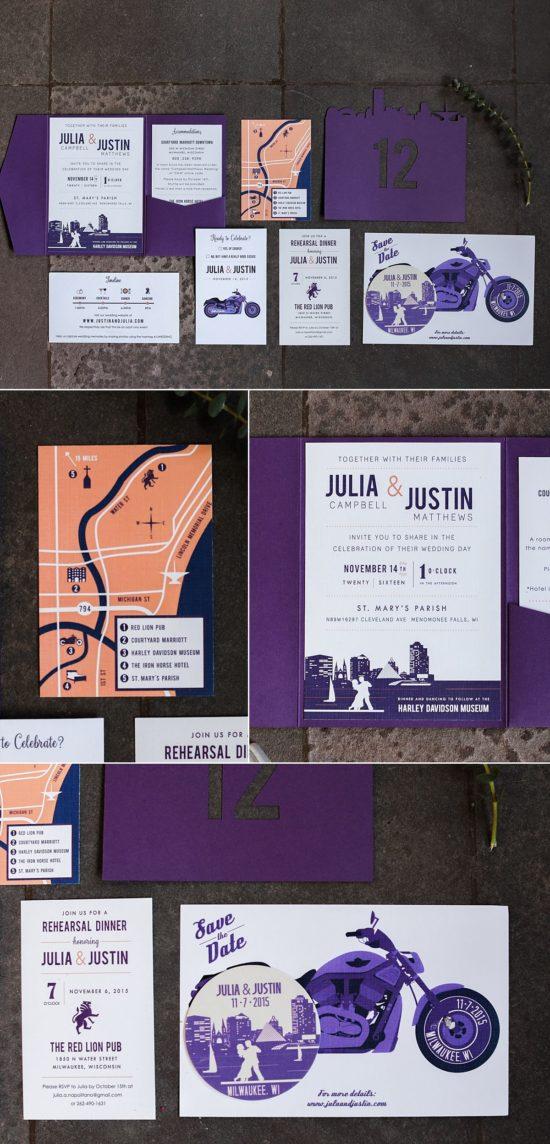 Custom Wedding Invitations - Design That Flies