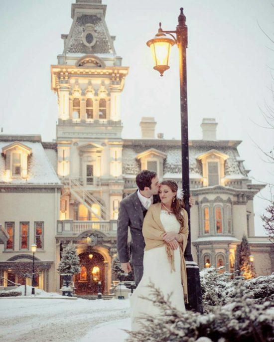 Wisconsin Club Winter Wedding