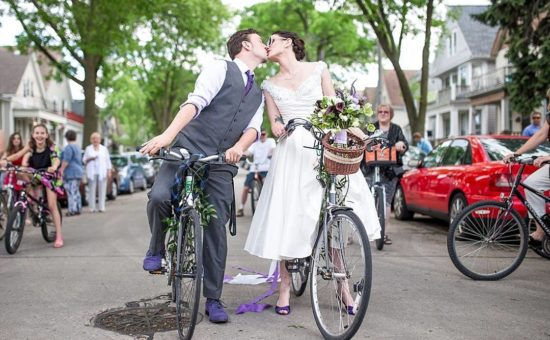 Riverwest Bike Wedding