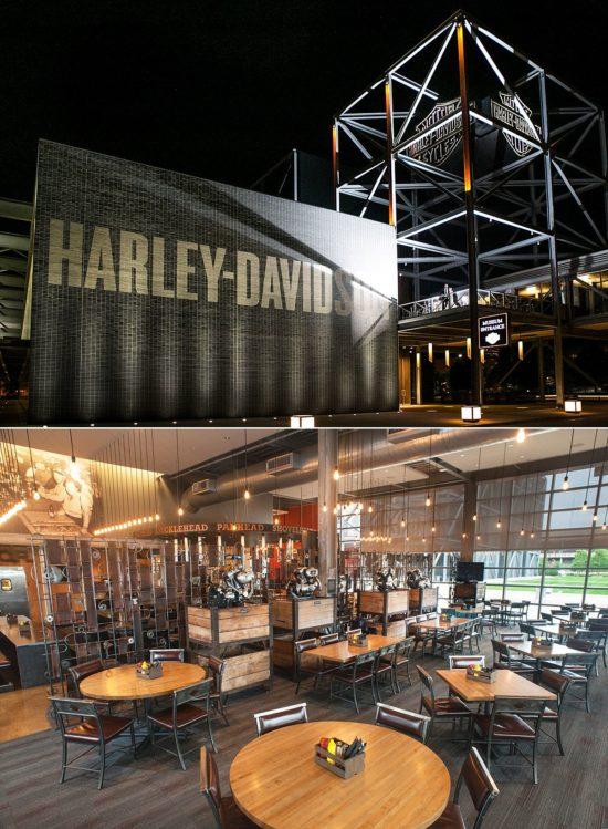 Milwaukee Bridal Shower Location_Harley Davidson Museum
