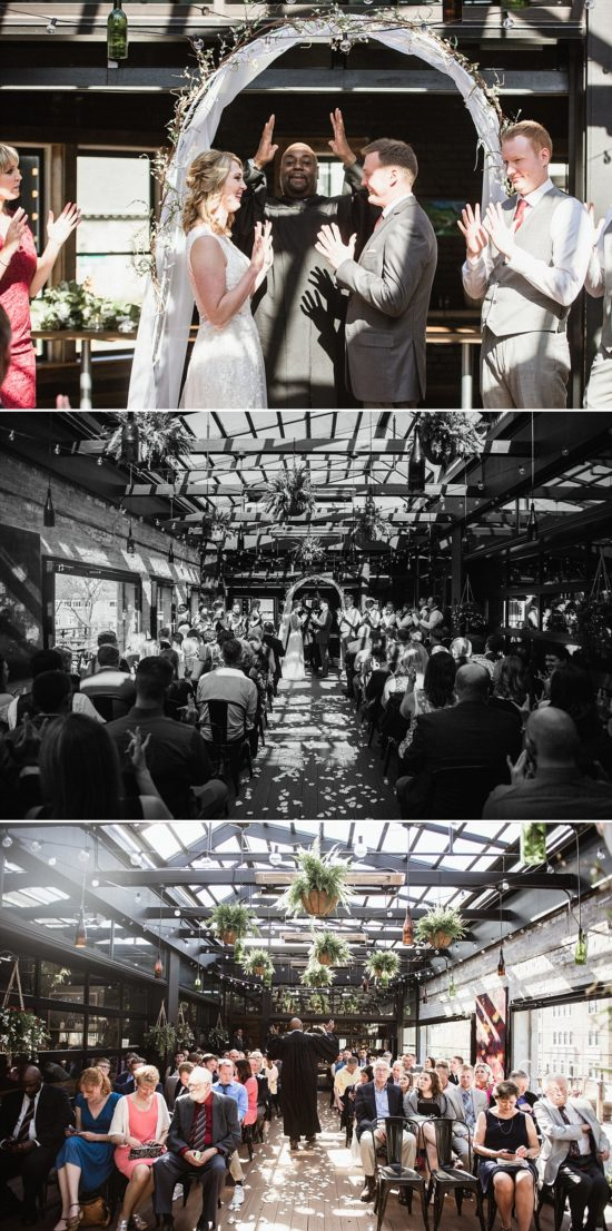 Pizza Man Milwaukee Wedding Ceremony