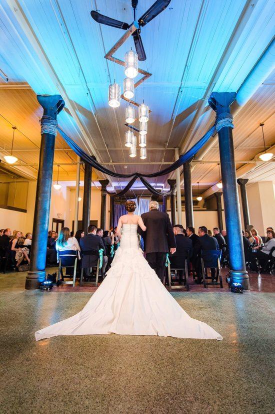 Pritzlaff building wedding